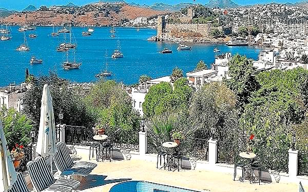 Comca Manzara, Bodrum, samolotem, all inclusive3