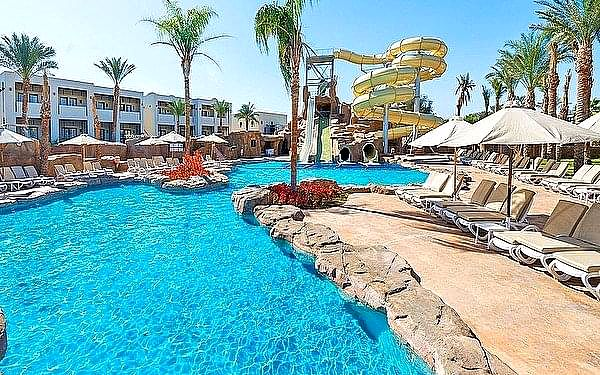 Reef Oasis Beach Resort, Ras Um El Sid, samolotem, all inclusive5