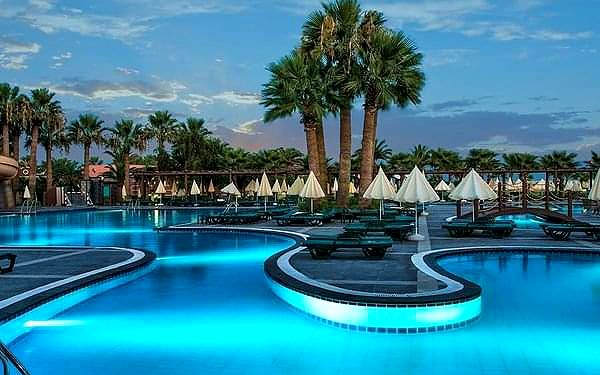 Club Mega Saray, Belek, samolotem, ultra all inclusive2
