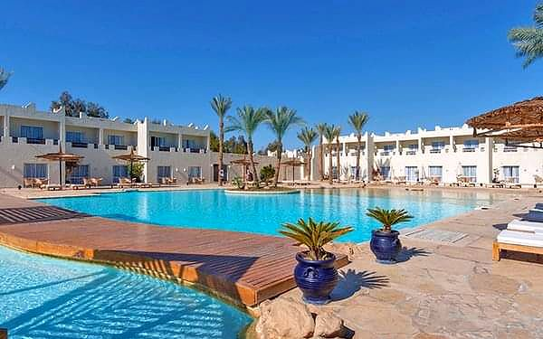 Reef Oasis Beach Resort, Ras Um El Sid, samolotem, all inclusive2