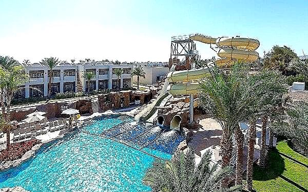 Reef Oasis Beach Resort, Ras Um El Sid, samolotem, all inclusive