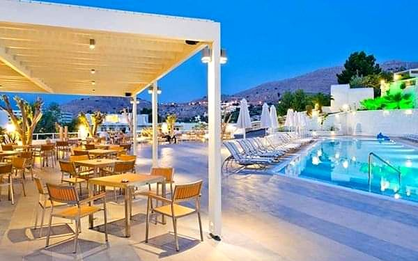 Lindos White Hotel & Suites, Lindos, samolotem, all inclusive2
