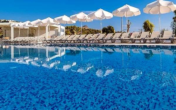 Lindos White Hotel & Suites, Lindos, samolotem, all inclusive