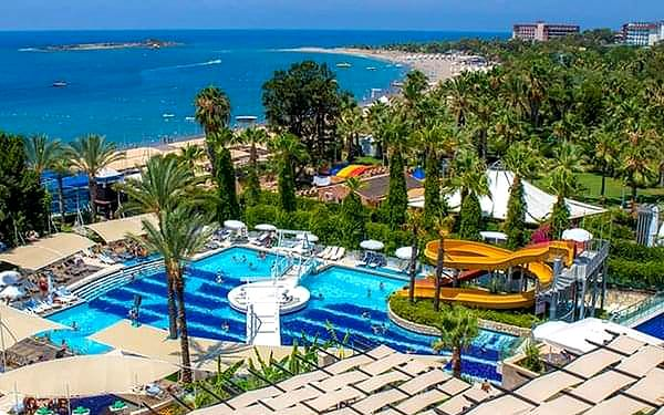 Sea Life Buket Beach (ex. Aska Buket), Alanya, samolotem, all inclusive