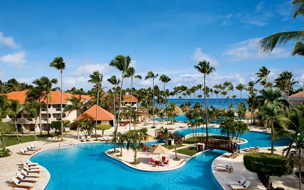 Dreams Palm Beach Punta Cana, Playa Bavaro, Dominikana, Playa Bavaro, samolotem, all inclusive4