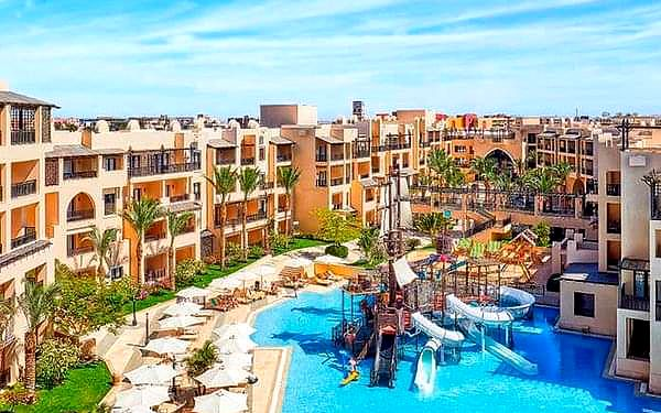 Steigenberger Aqua Magic, Hurghada, samolotem, all inclusive