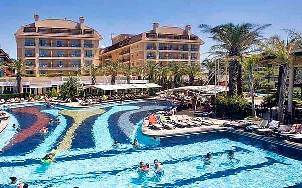 Crystal Family Resort, Belek, samolotem, ultra all inclusive